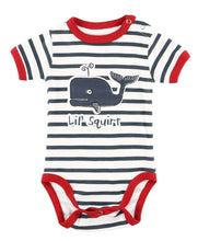 Lil' Squirt Whale Infant Creeper Onesie