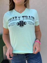 Mint Chocolate Chip V-Neck by Crazy Train