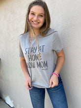 Stay at Home Cow Mom Graphic Tee