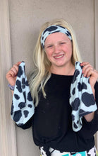 Cow Print Face Shield, Mask or Headband