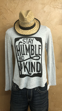 Grey Humble and Kind Longsleeve Light Sweater
