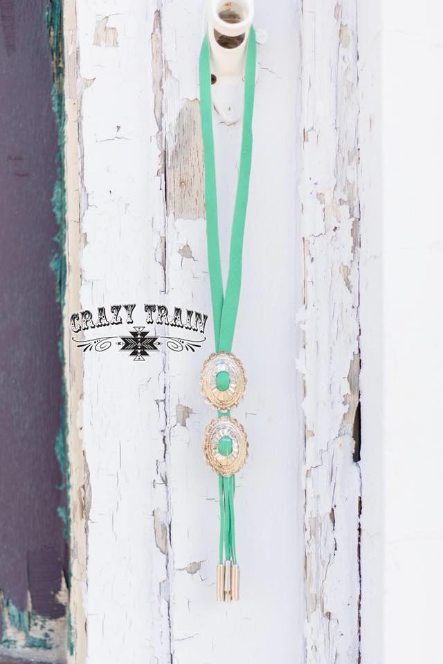 Turquoise Rustler Bolo by Crazy Train