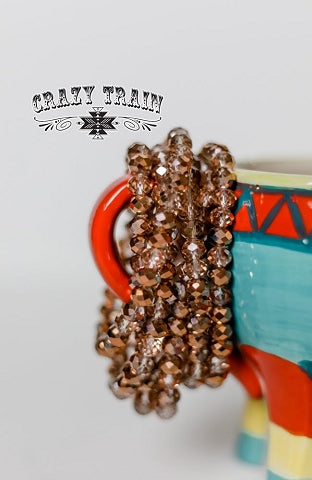 #45-Crazy Train Chandelier Arm Candy Bracelet