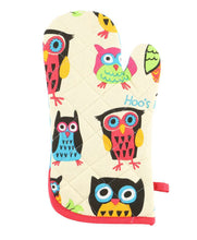Hoo's Hungry Owl Oven Mitt by Lazy One