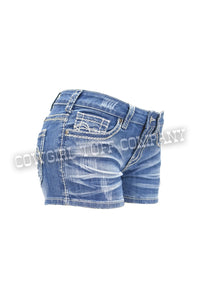 Shattered Cowgirl Tuff Shorts