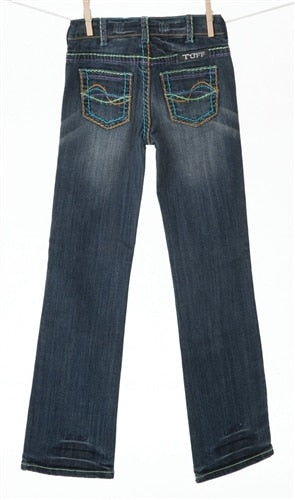 Girls Star Burst Cowgirl Tuff Jeans