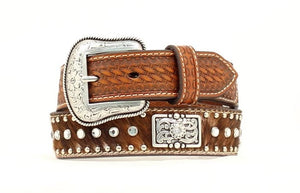 Kids Calf Hair Belt by Nacona