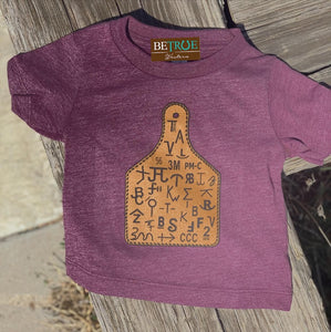 Mauve Tag You're It Kids' Tee Brand Graphic Tee