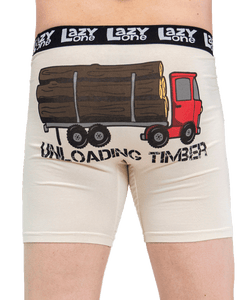 Lazy One Unloading Timber | Men's Boxer Briefs
