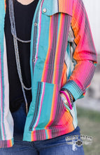 Crazy Train Cojo Serape Cargo Jacket