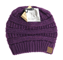 Beanie Tail CC Sequin Beanie- (MULTIPLE COLORS)