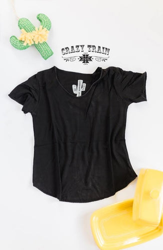Crazy Train Kids Black Butter Basic Tee