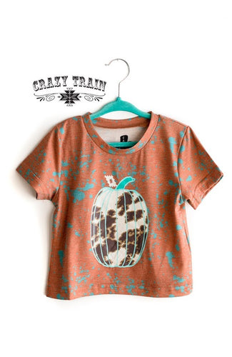 Crazy Train Kids Howdy Fall Tee