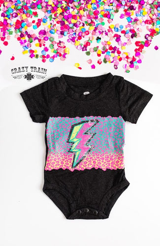Crazy Train Thunder Rolls Onesie