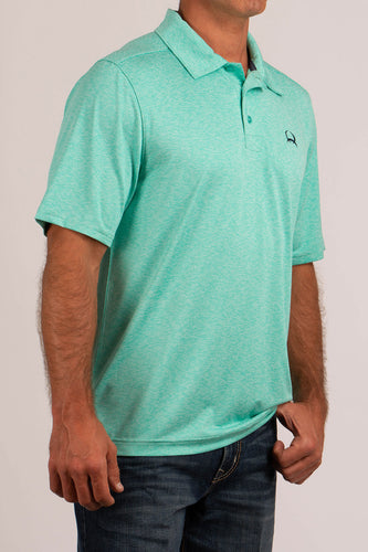 Men's Arena Flex Teal Short Sleeve- CINCH
