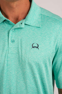 Cinch Men's Arena Flex Teal Short Sleeve