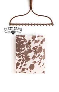 Crazy Train Cowhide Print Gift Bag