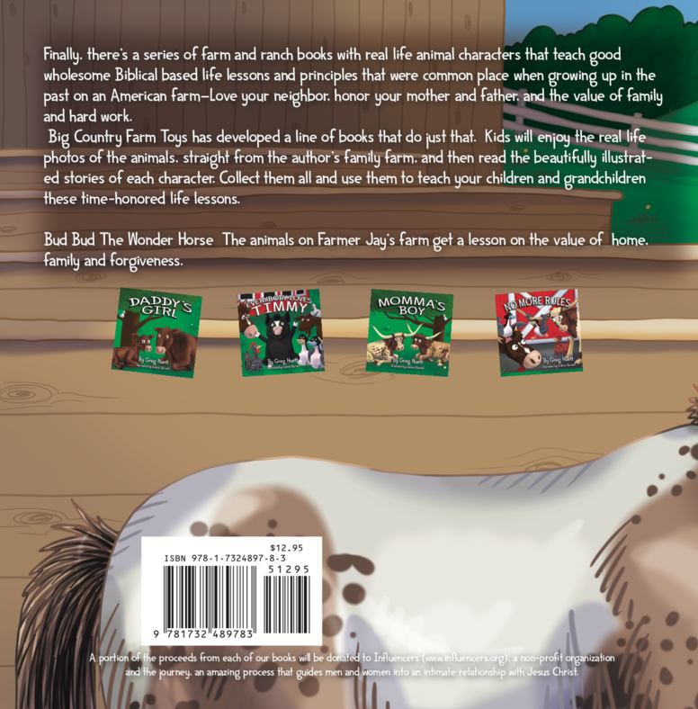 Big Country Bud Bud The Wonder Horse Story Time Book