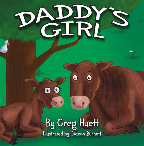 Big Country Daddy's Girl Story Time Book