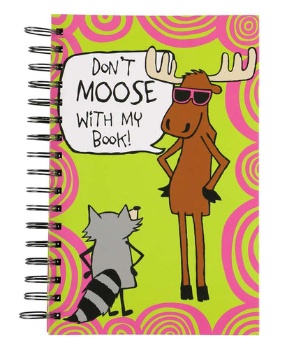 Don't Moose Notebook by Lazy One