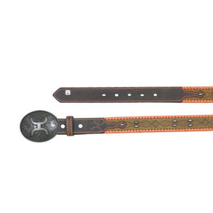 HOOey Burnt Sienna Junior Belt