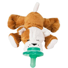 Barkley Bull Dog Nookum Paci-Plushies Buddies
