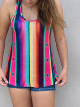 Crazy Train Aztec Serape Texoma Tank