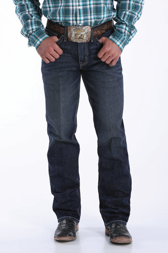 Cinch Men's Grant Relaxed Fit Dark Wash Jeans