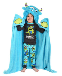 Monster Critter Hooded Blanket by Lazy One
