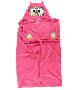 Owl Critter Hooded Blanket by Lazy One