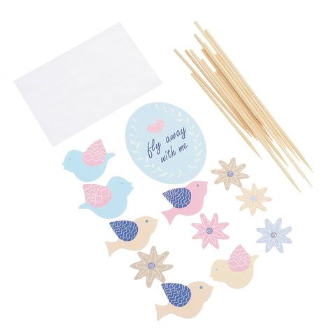 Little Bird - Cake Toppers - Miss Decorate