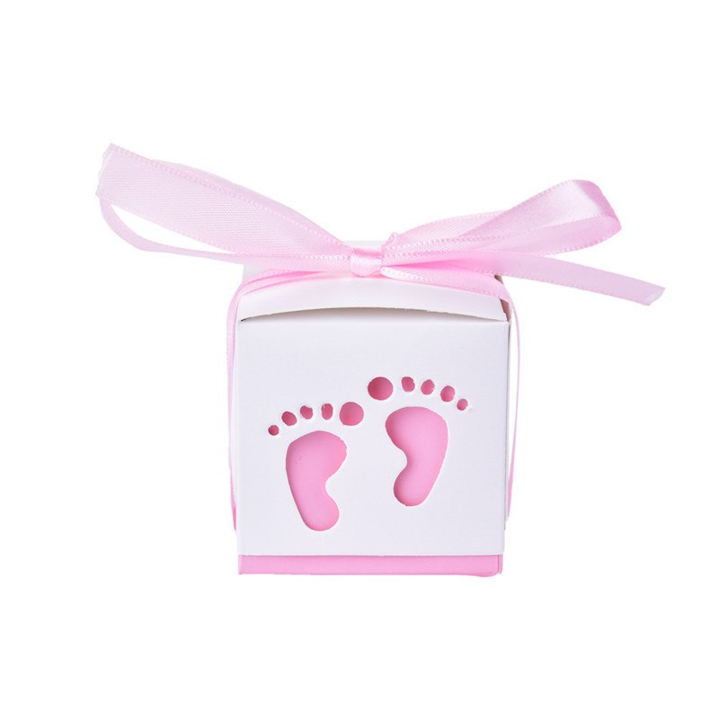 Pink Baby Feet - Gift Box - Miss Decorate