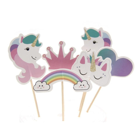 Love Unicorn - Cake Toppers - Miss Decorate