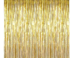 Gold Foil Fringe - Curtain - Miss Decorate