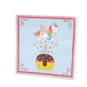 Birthday Candle - Napkins - Miss Decorate