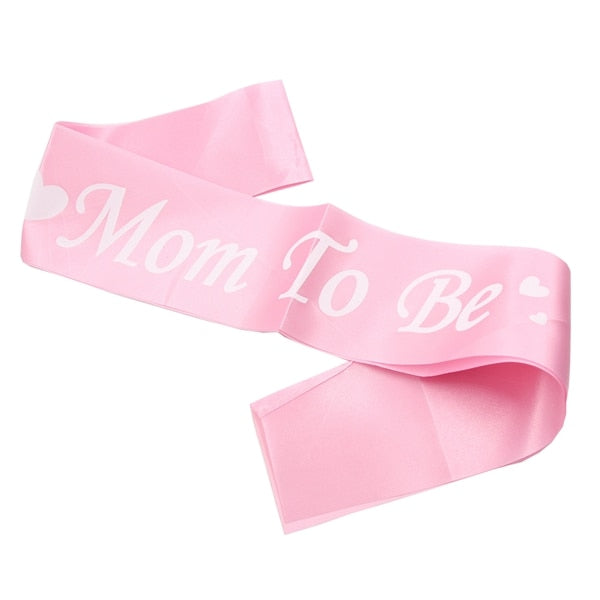 Pink Mom To Be - Sash - Miss Decorate
