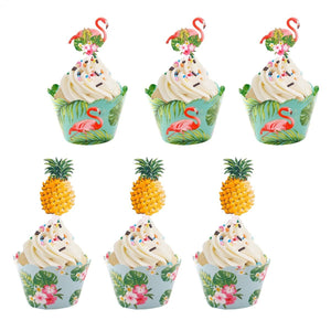 Exotic Paradise - Cupcake Wrappers - Miss Decorate