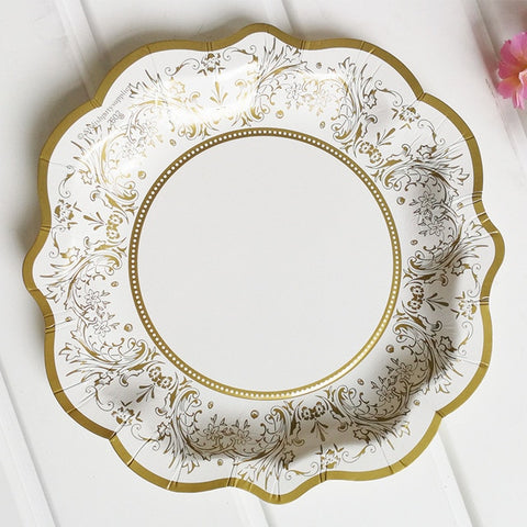Vintage Gold - Plates - Miss Decorate