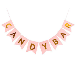 Candy Bar - Pennant - Miss Decorate