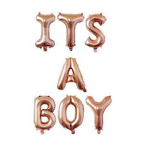 It's a Boy - Balloons - Miss Decorate