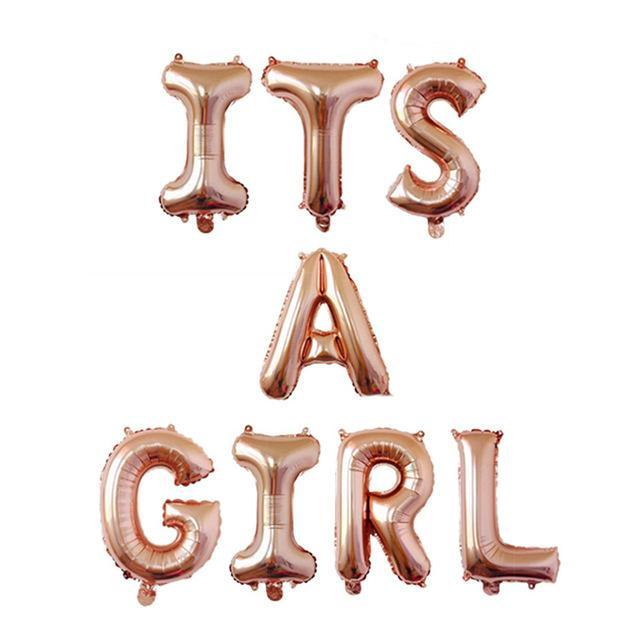 It's a Girl - Balloons - Miss Decorate