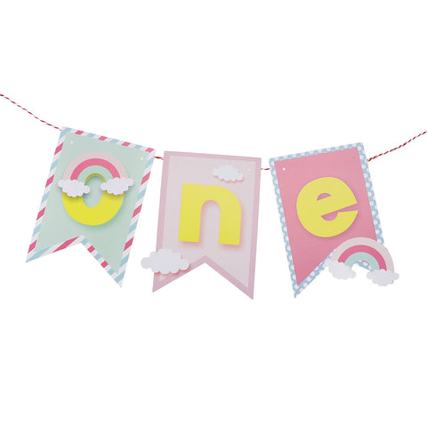 Rainbow One - Banner - Miss Decorate