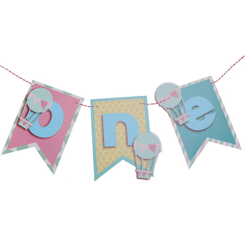 Hot Air Balloon One - Pennant - Miss Decorate