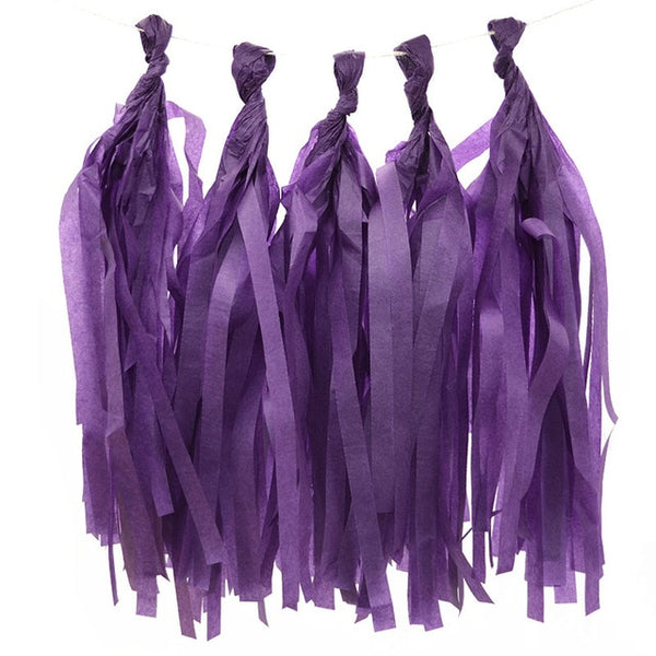 Paper tassels - 24 colors - Miss Decorate