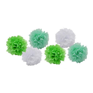 Green Mix - Pom Poms - Miss Decorate