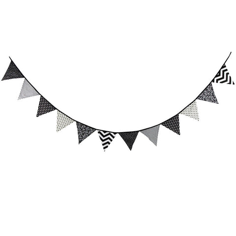 Black Triangle - Pennant - Miss Decorate