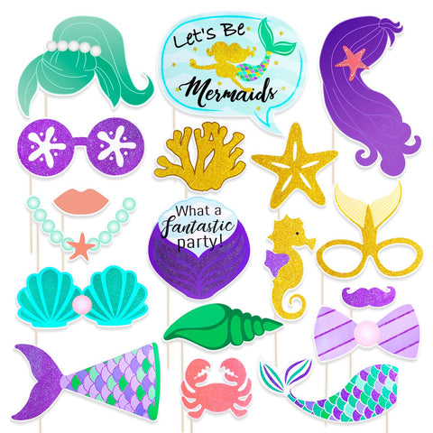 Mermaid - Photo Booth - Miss Decorate