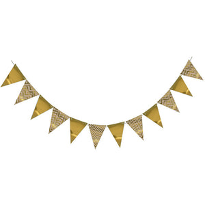 Gold Chevron - Pennant - Miss Decorate