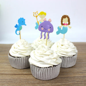 Sea World - Cake Toppers - Miss Decorate