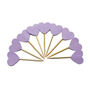 Purple Heart - Cake Toppers - Miss Decorate